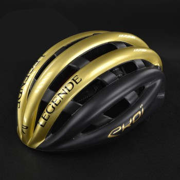 Casco EKOI LEGENDE LTD Nero Opaco Oro