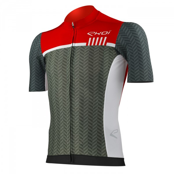 Maillot EKOI Lombardie Rouge