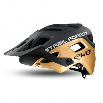 Casque EKOI MTB TRAIL FOREST Black Bronze