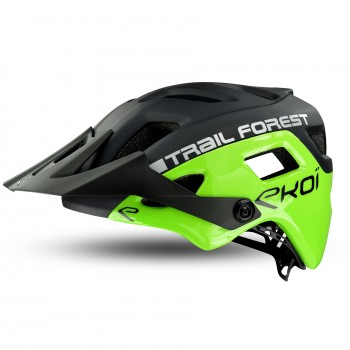 Green EKOI MTB TRAIL FOREST Helmet