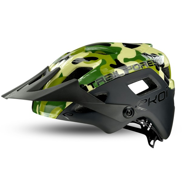 Helm EKOI MTB TRAIL FOREST Camo