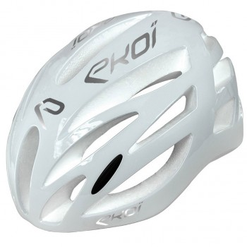 Casque EKOI CORSA EVO Limited Blanc Silver
