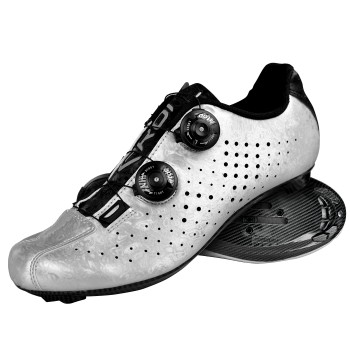 Zapatillas de carretera EKOI R4 EVO Carbon Tech Silver
