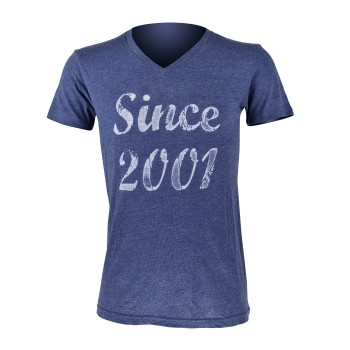 Tshirt EKOI Blue Since 2001