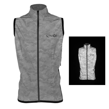 Wind vest EKOI REFLECTEREND