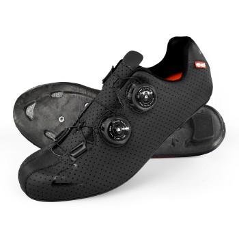 Chaussures route EKOI CARBON R5 Noir Brillant