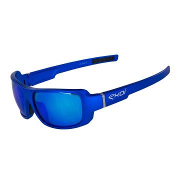 Niebieskie okulary EKOI Lifestyle BIKER