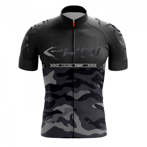 Maillot EKOI CYCLING FIGHT Noir