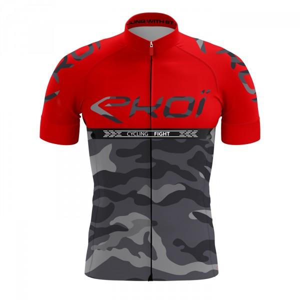 Maillot EKOI CYCLING FIGHT Rouge