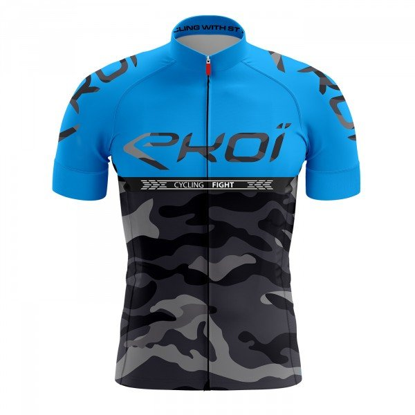Maillot EKOI CYCLING FIGHT Bleu