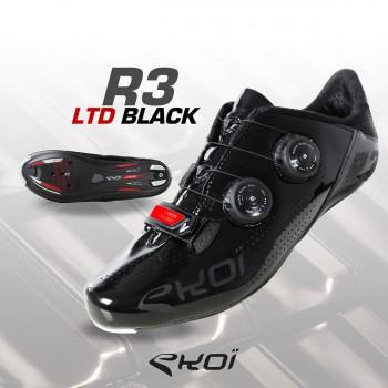 Chaussures EKOI R3 LTD Black Red