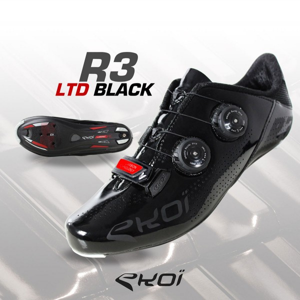 Chaussures EKOI R3 LTD Black Red