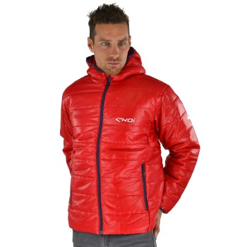EKOI Winter Warm Red quilted jacket