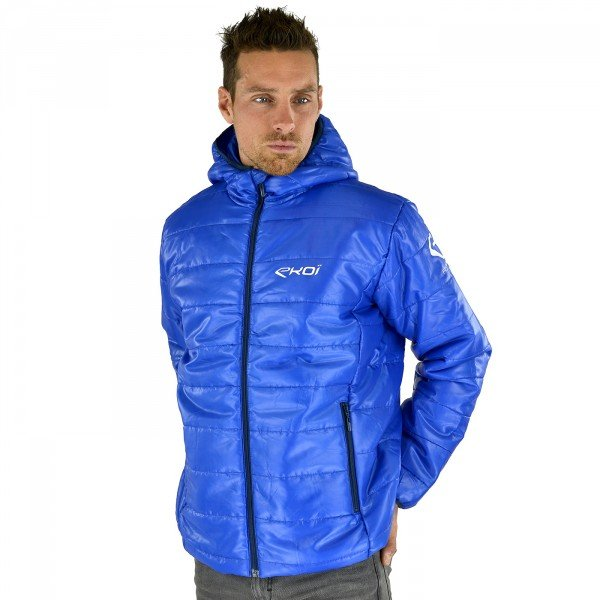 EKOI Winter Warm Blue Quilted Jacket