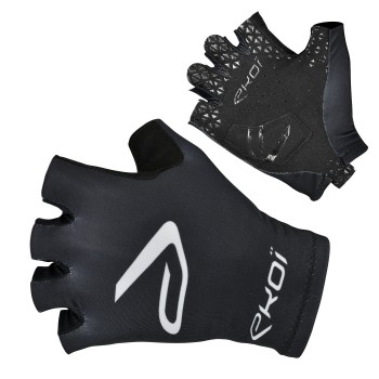 EKOI black SAT short-fingered gloves