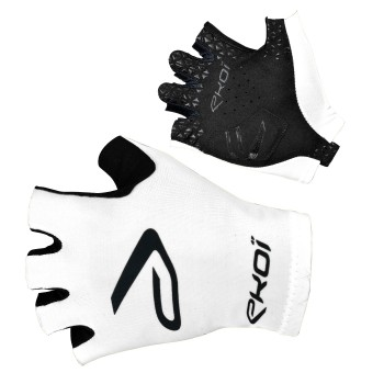 EKOI white SAT short-fingered gloves