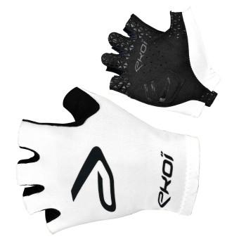 Rękawice szosowe rowerowe SAT EKOI Białe
