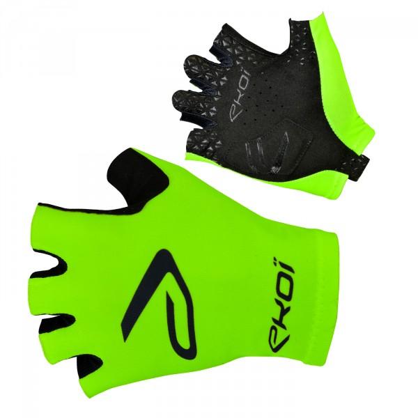 EKOI green fluo SAT short-fingered gloves