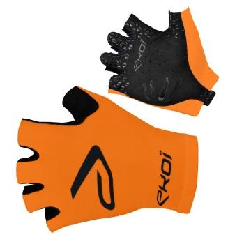 Rękawice szosowe rowerowe SAT EKOI Pomarańczowe fluo