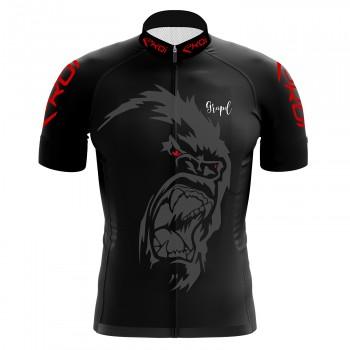 Czarna koszulka EKOI GORILLA GREIPEL Fight ALS