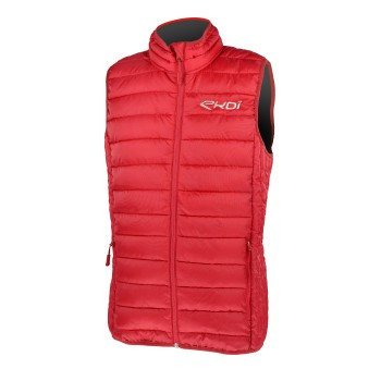 EKOI Red mid-season quilted gilet