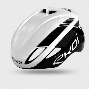 EKOI AR14 Black / White helmet