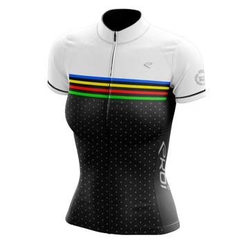 Maillot EKOI just for her colors noir/blanc
