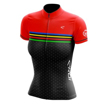 Maillot EKOI just for her colors noir/rouge