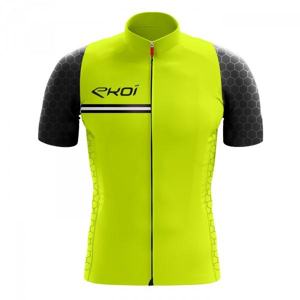 EKOI HEXA Yellow fluo jersey