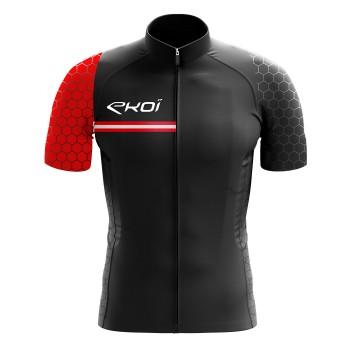 EKOI HEXA Black / Red jersey