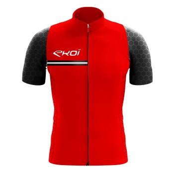EKOI HEXA Red / Black jersey
