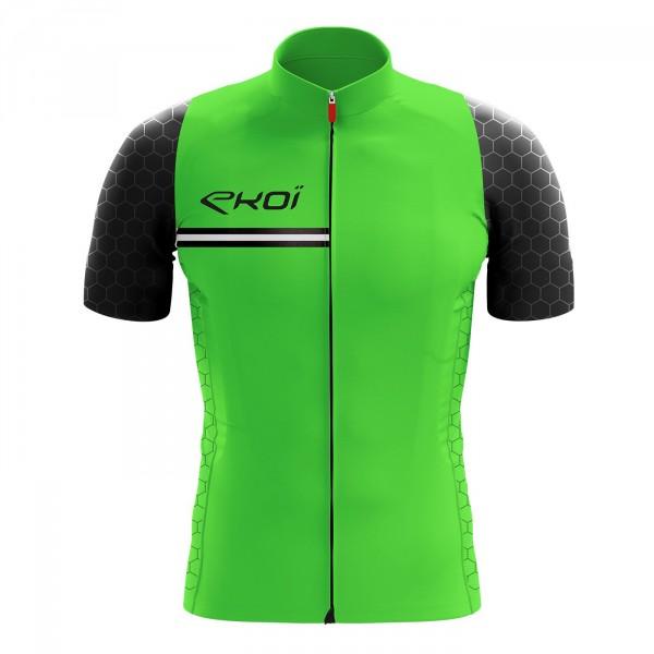 Shirt  EKOI HEXA fluo groen