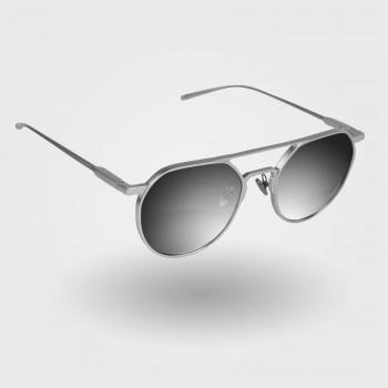 Okulary EKOI METAL Proteam Silver