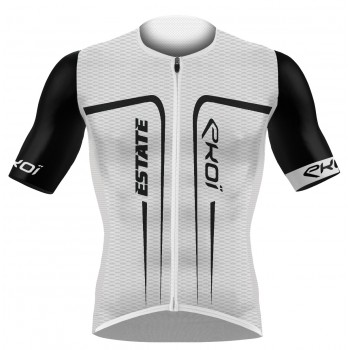 EKOI ESTATE White / Black short sleeve jersey