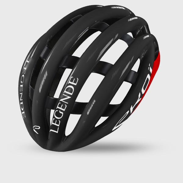 EKOI LEGENDE ヘルメット ブラック/レッド