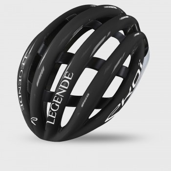 ヘルメット EKOI LEGENDE Noir Blanc