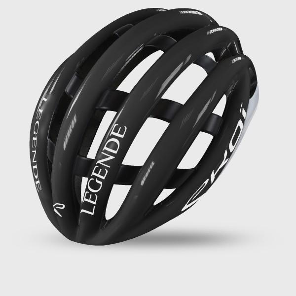 EKOI LEGENDE ヘルメット ブラック/ホワイト