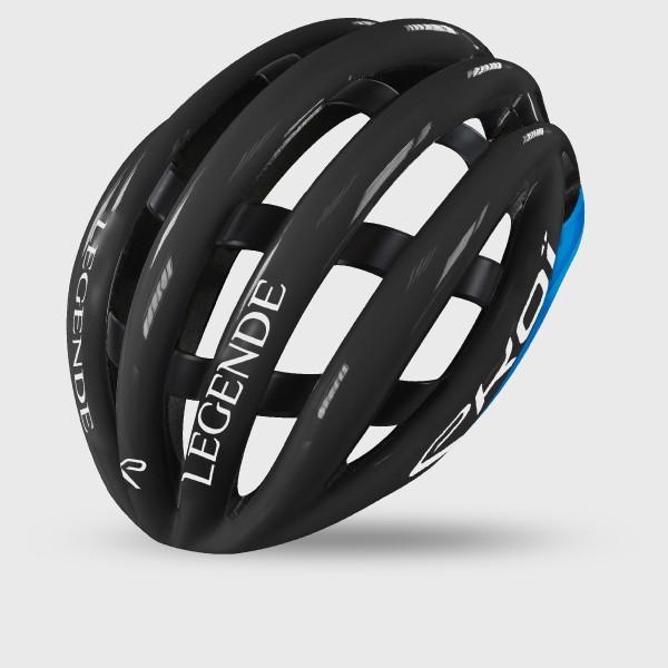 EKOI LEGENDE ヘルメット ブラック/ブルー
