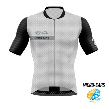 Koszulka na lato EKOI MICROCAPS Biała