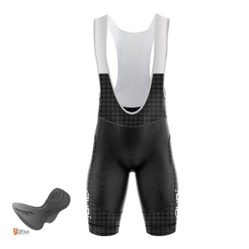 EKOI REFRESH black bib short