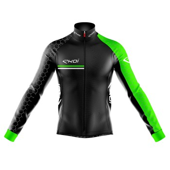 Thermal Jacket  Extreme Cold  EKOI HEXA 0°C  Neon Green