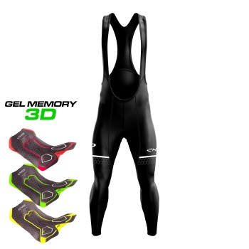 EKOI HEXA Gel Memory 3D -pitkät ajohousut