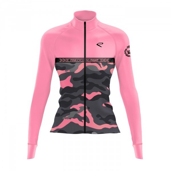 Veste hiver EKOI JUST FOR HER Pink cycling