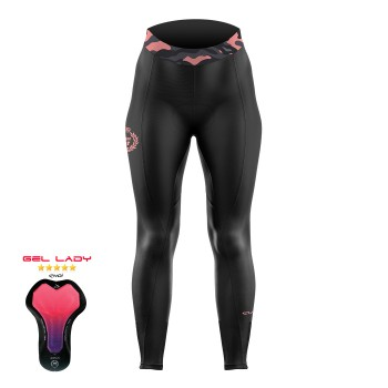 Winter Tights  EKOI GEL JUST FOR HER pink cycling