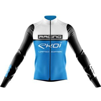 Maillot EKOI RACING 7° Blanc Bleu