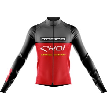 Maillot EKOI RACING 7° Gris Rouge