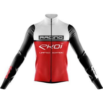 Thermojacke EKOI RACING 0° Weiss Rot