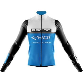 Thermojacke EKOI RACING 0° Weiss Blau