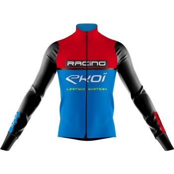 Thermojacke EKOI RACING 0° Rot Blau