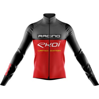 Thermojacke EKOI RACING 0° Grau Rot